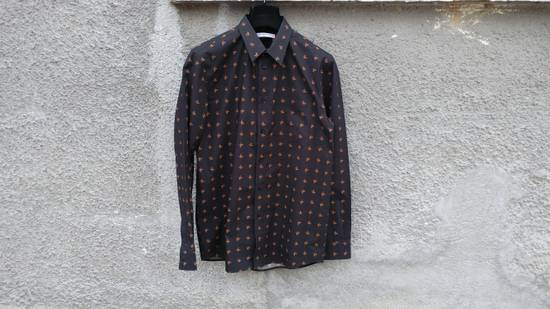 Givenchy Givenchy Floral Print Rottweiler Shark Stars Men's Shirt size 40 (M) Size US M / EU 48-50 / 2
