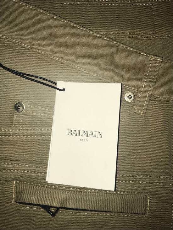 Balmain Cropped Tan Jeans Size US 31 - 2