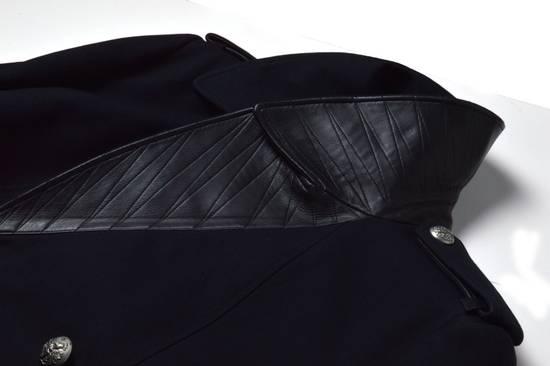 Balmain Cotton Gabardine Nappa Pea Coat Size US L / EU 52-54 / 3 - 4