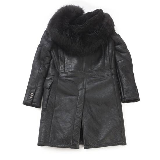 Balmain Balmain Leather Shearling Fur Parka Black Size Small 46-48 Coat Military Size US S / EU 44-46 / 1 - 8