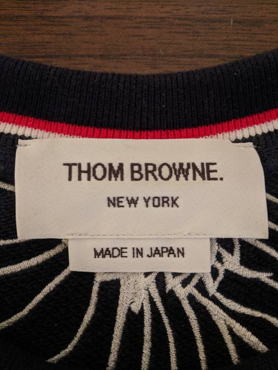 Thom Browne Thom Browne Chrysanthemum and Koi Sweatshirt Size US L / EU 52-54 / 3 - 8