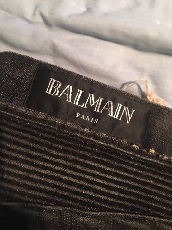 Balmain Distressed at Knee Jeans S/S 15 Size US 36 / EU 52 - 1