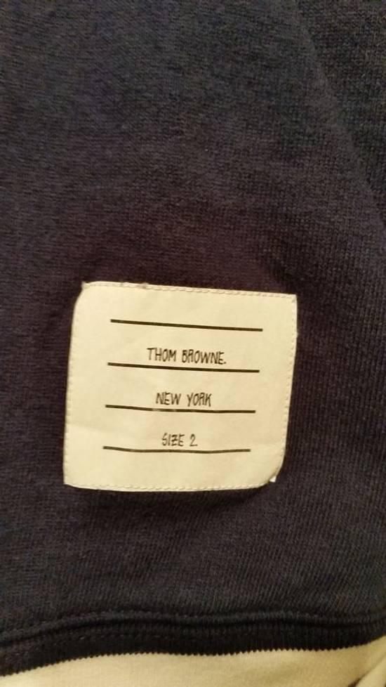 Thom Browne Navy crewneck sweatshirt Size US M / EU 48-50 / 2 - 2