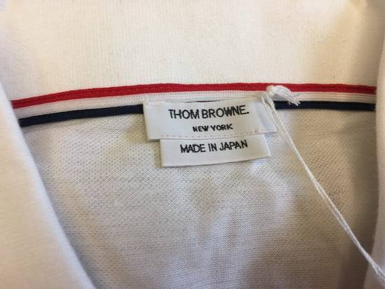 Thom Browne 17SS Stripe Polo Size US XL / EU 56 / 4 - 1