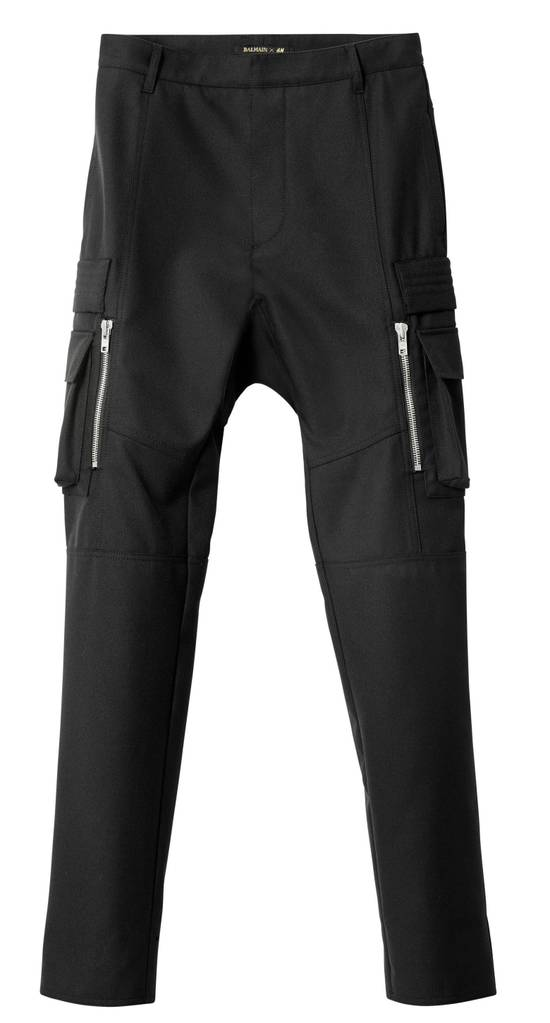Balmain Cargo Biker Wool Pants Size US 29 - 8