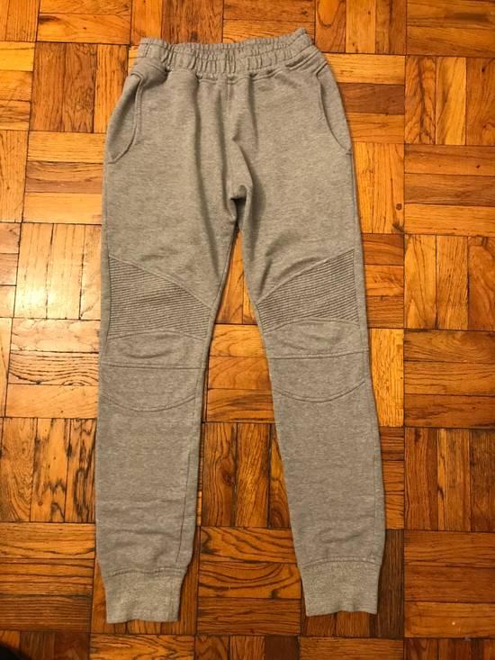 Balmain Balmain Grey biker sweatpants size M Size US 31