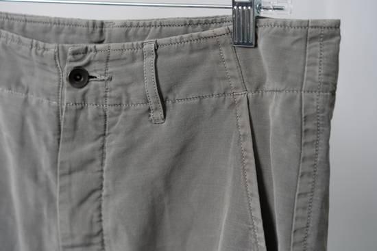 Julius SS12 'Edge' Grey Gasmask Cargo Cropped Pants Size US 31 - 4