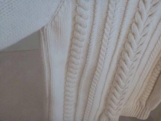 Balmain Cable Knit Sweater Merino Size US L / EU 52-54 / 3 - 4
