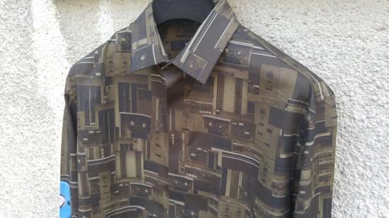 Givenchy Givenchy Dark Circuit 17 Deck Tape Rottweiler Shark Oversized Shirt size 40 (L) Size US L / EU 52-54 / 3 - 5
