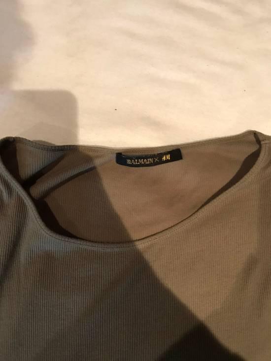 Balmain H&M x Balmain Long Sleeve Basic T-Shirt Size US M / EU 48-50 / 2 - 1