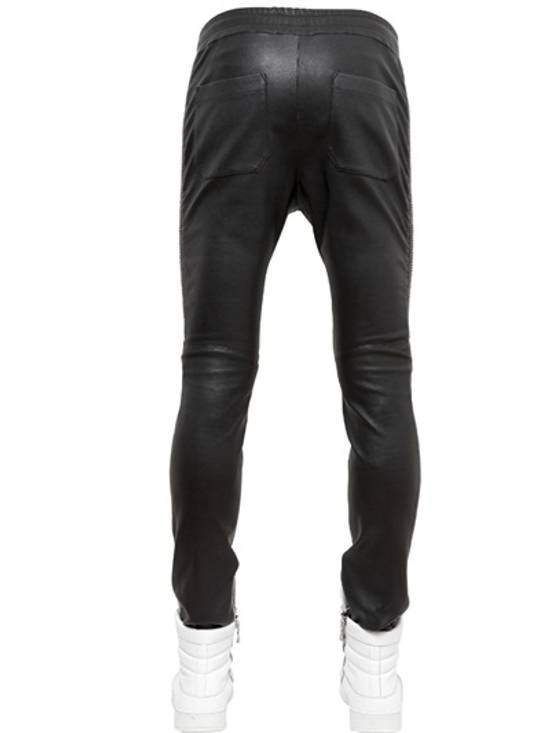 Balmain SS14 Washed Leather Jogger Size US 30 / EU 46 - 1