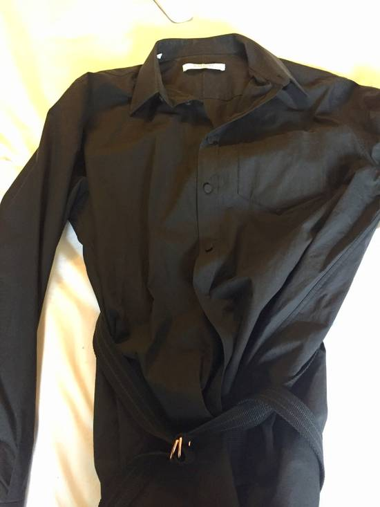 Givenchy Shirt - Blouse With Studded Belt Size US L / EU 52-54 / 3 - 1
