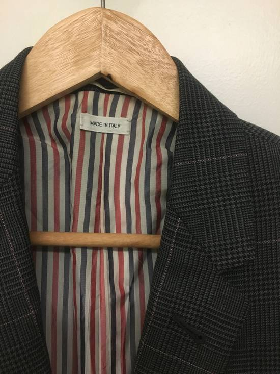 Thom Browne Thom Browne Prince of Wales w/ Red/White Overcheck Size 00 Size 34S - 1