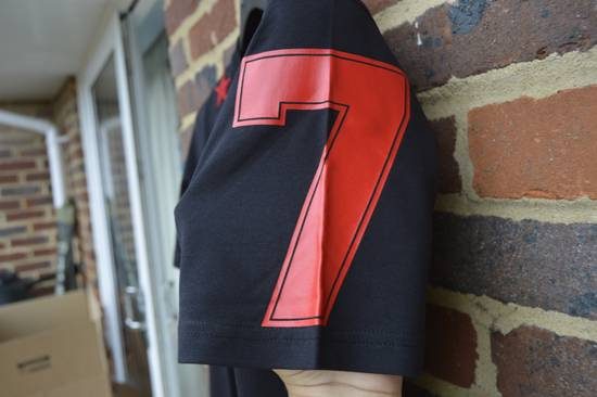 Givenchy Black and Red 5 Stars T-shirt Size US XL / EU 56 / 4 - 5