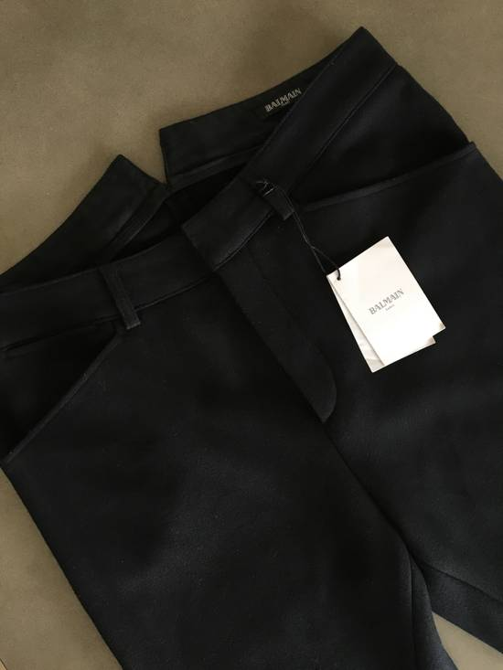 Balmain Wool Biker Pants Size US 32 / EU 48 - 1