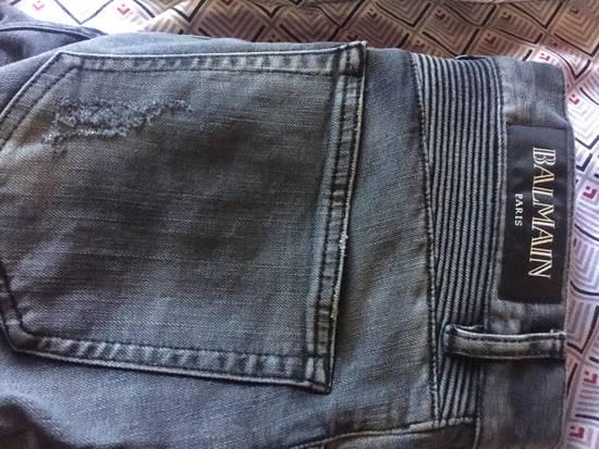 Balmain Distressed Biker Jeans Size US 34 / EU 50 - 3