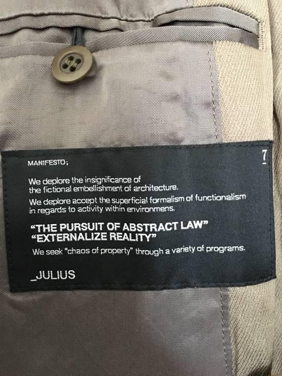 Julius AW2007 Khaki Light Jacket Size US M / EU 48-50 / 2 - 4