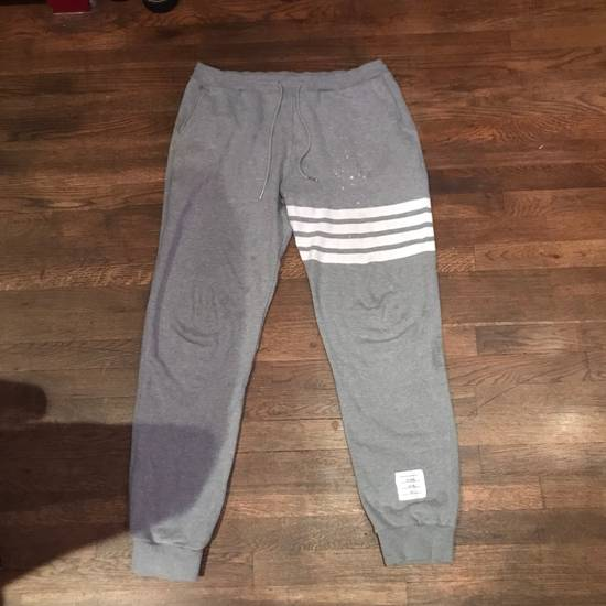 Thom Browne Thom Browne (Grey) Engineered 4-bar Sweatpants Size US 30 / EU 46