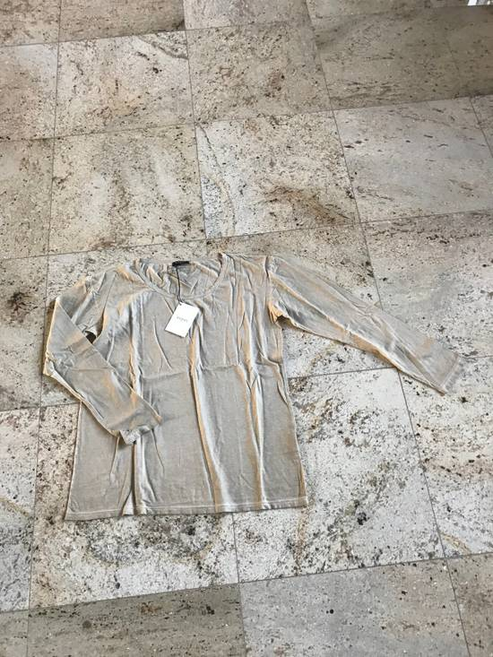 Balmain Distressed Khaki LS Tes Size US XL / EU 56 / 4 - 3