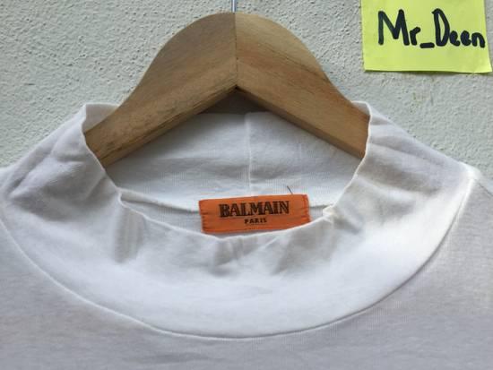 Balmain Vintage Balmain Script Logo Tshirt Size US S / EU 44-46 / 1 - 10