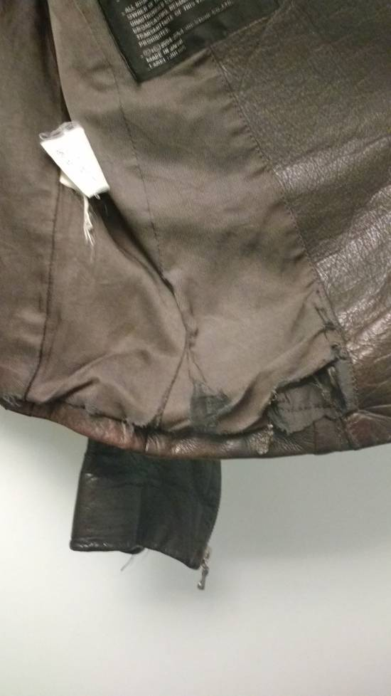 "Julius FINAL DROP a/w 2005 ""thieves"" leather fencing jacket Size US M / EU 48-50 / 2 - 3"