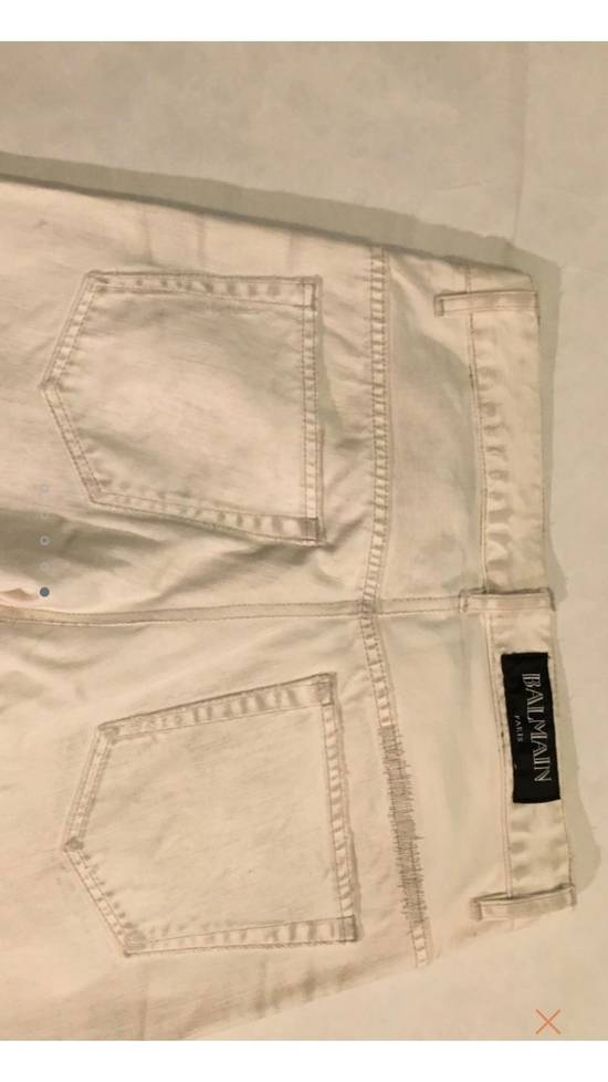 Balmain White Denim Size US 30 / EU 46 - 4