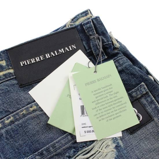 Balmain Pierre Balmain Distressed Moto Biker Jeans Size 32 Made in Italy Size US 32 / EU 48 - 9