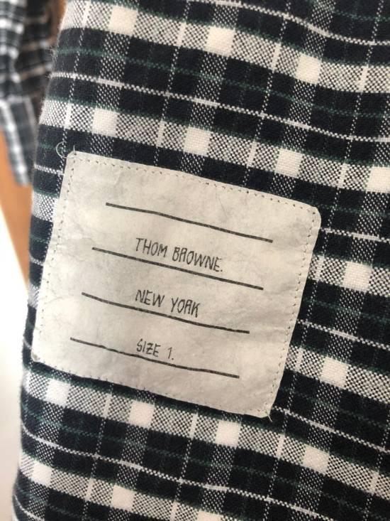 Thom Browne Navy Plaid Grosgain Sleeve Size 1 Size US S / EU 44-46 / 1 - 3