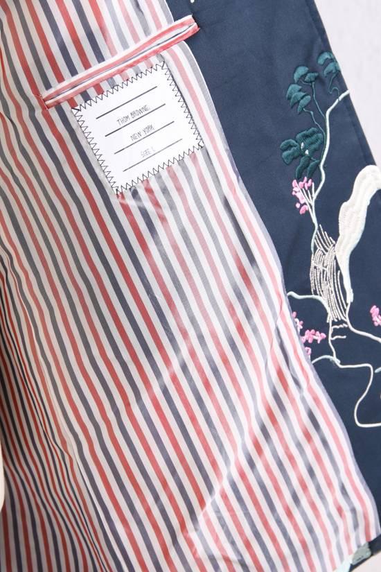 Thom Browne Japanese Garden Navy Coat Size US S / EU 44-46 / 1 - 3