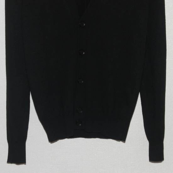 Givenchy Men's Givenchy Love Embroidered Black Cardigan Size S Size US S / EU 44-46 / 1 - 4