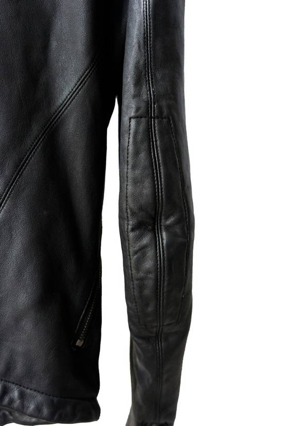Julius JULIUS _7 ma high neck black lamb biker jacket slim fit Japan Size US S / EU 44-46 / 1 - 19
