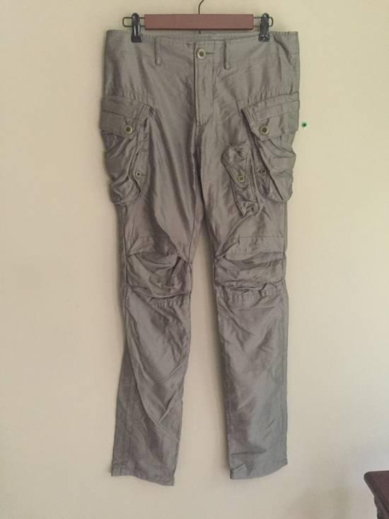 Julius SS10 Cotton-Lyocell Skinny Cargos Size US 31 - 1