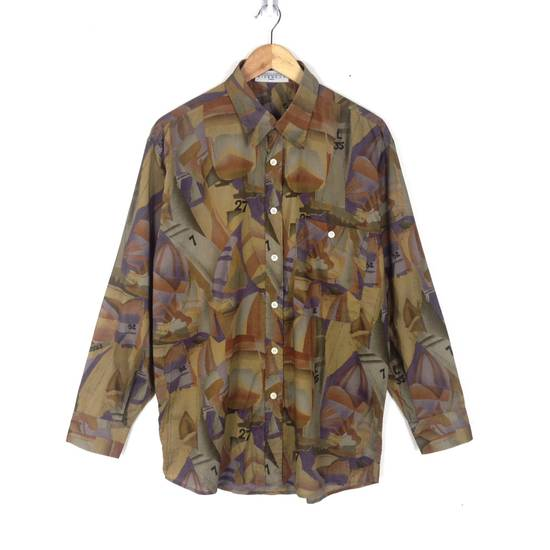 Givenchy Givenchy Alloverprint Luxury Button Down Shirt Size US L / EU 52-54 / 3