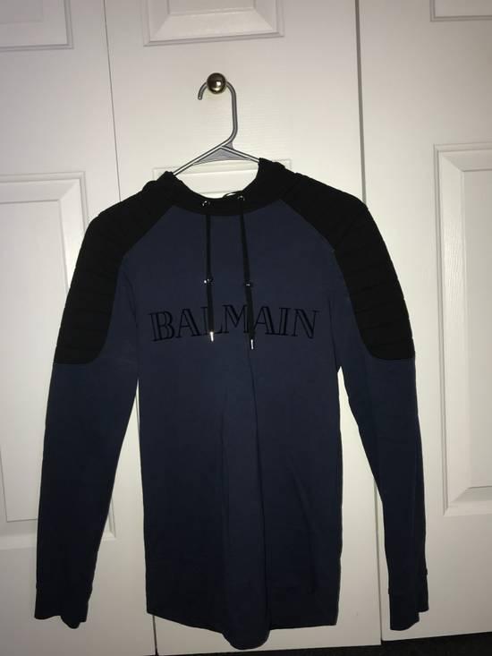 Balmain Balmain x H&M Hoodie (Blue) Size US XS / EU 42 / 0
