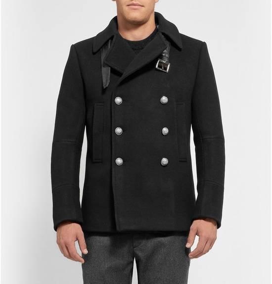 Balmain Wool-Blend Peacoat Size US S / EU 44-46 / 1