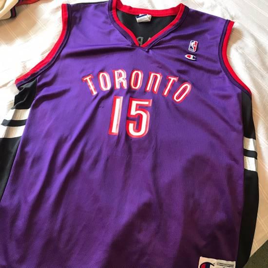 huge selection of df6b8 4eeef Vintage Champion Vince Carter NBA Toronto Raptors Jersey