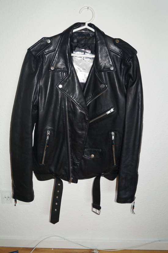 "Blk Dnm ""In the Dust of This Planet"" Leather Jacket Size US XL / EU 56 / 4"
