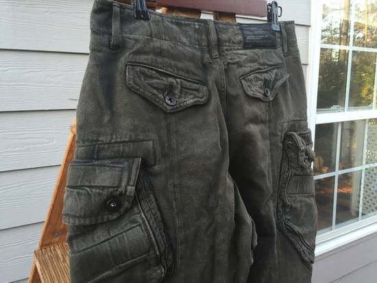 Julius FW12 Heavy Denim Distressed Gasmask Cargos Size US 32 / EU 48 - 8