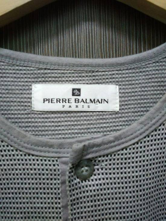 Balmain Pierre Balmain Paris Mens Pocket T-Shirt Size US M / EU 48-50 / 2 - 2