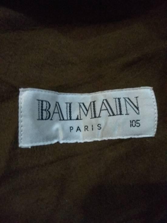 Balmain Vintage Jacket Wool With Fur BALMAIN Rare Size US L / EU 52-54 / 3 - 12