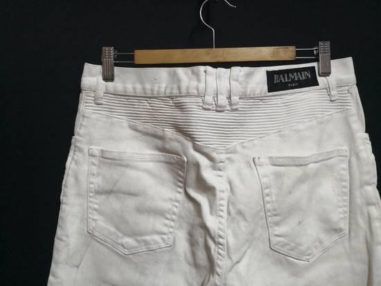 Balmain Balmain Coated biker Jeans Size US 33 - 6