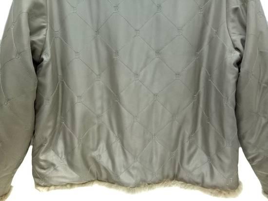 Balmain 🔥FINALDROP♨Reversible Balmain Paris Fur and Silk Jacket RARE Design Size US L / EU 52-54 / 3 - 11