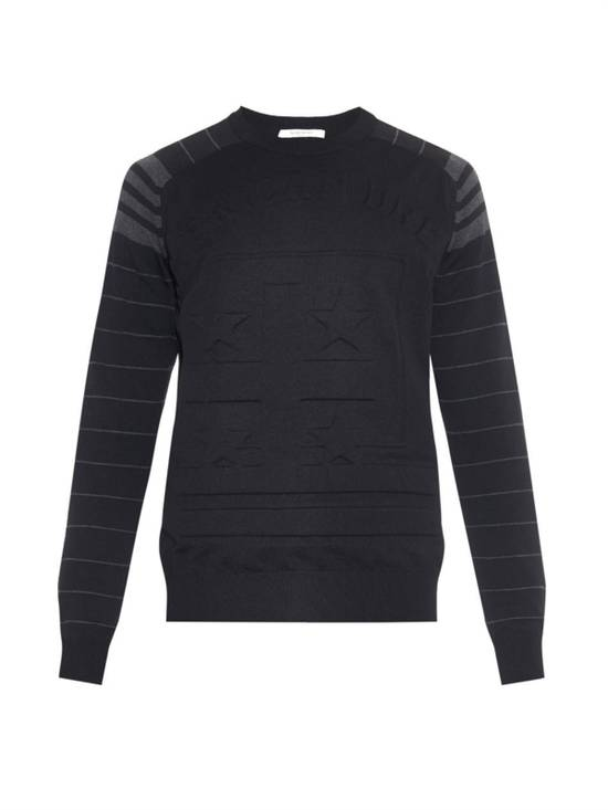 Givenchy Black American Dream Embossed Sweatshirt Size US L / EU 52-54 / 3