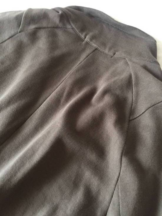 Julius Japan made long jersey oversize Popper fastening Gasmask pocket jacket Size US S / EU 44-46 / 1 - 17