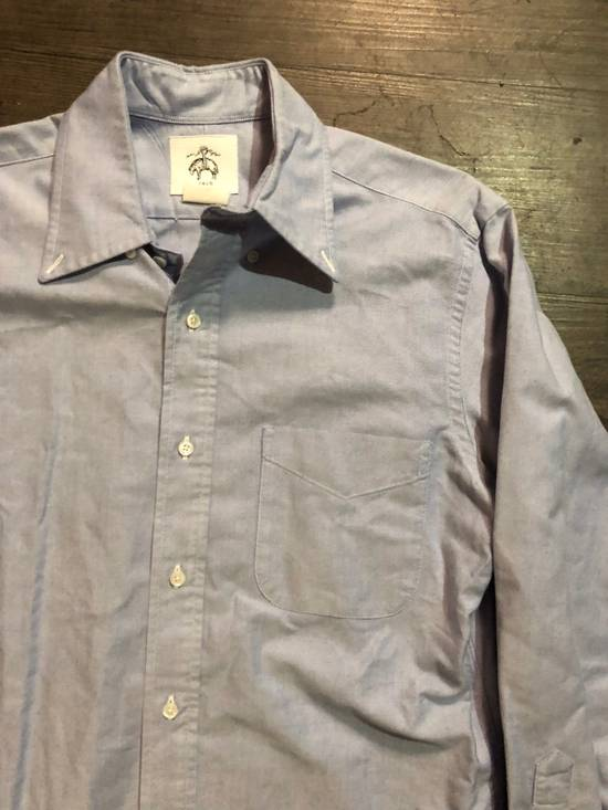 Thom Browne BLUE OXFORD BUTTON UP SHIRT Size US M / EU 48-50 / 2 - 1