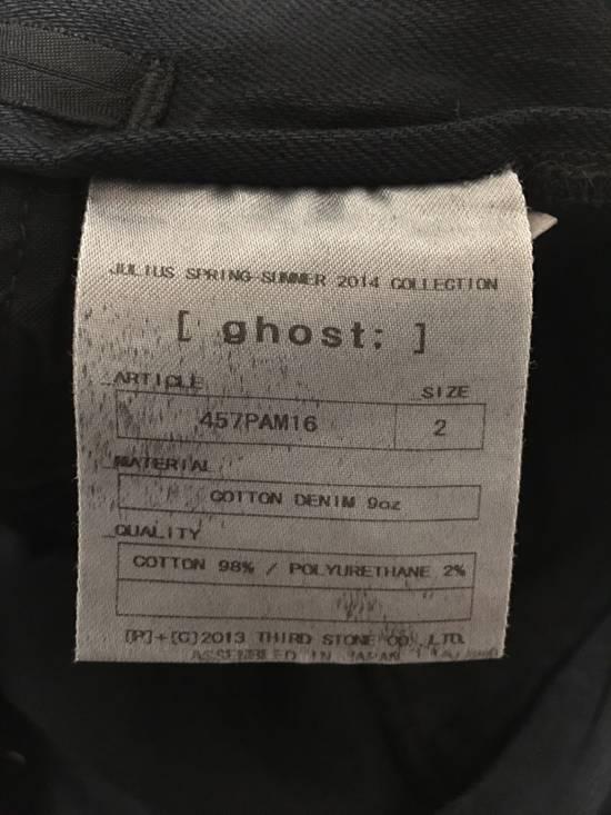 Julius Ghost Denim Cargo Pants Size US 32 / EU 48 - 4