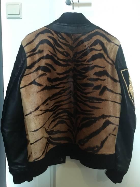 Balmain Rare Tiger Chest Biker Jacket Size US S / EU 44-46 / 1 - 5