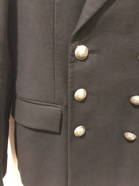 Balmain AW11 Navy Double Breasted Blazer Size 34R - 3