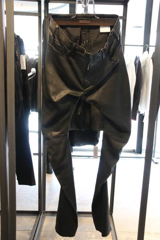 Julius Deerskin Leather Biker Pants Size US 30 / EU 46 - 8