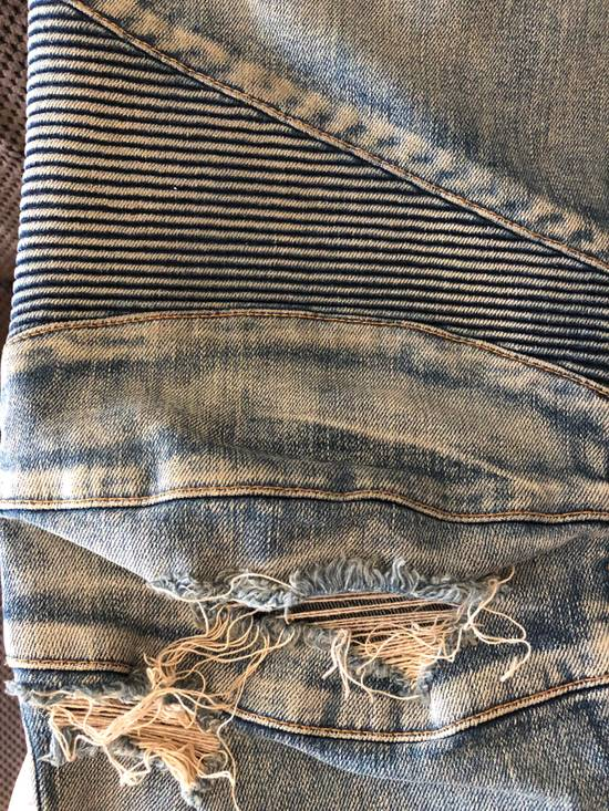 Balmain Balmain disrtressed biker jeans Size US 36 / EU 52 - 14